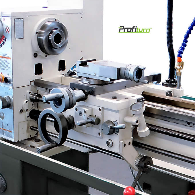 profimach The headstock is made of high quality cast iron
