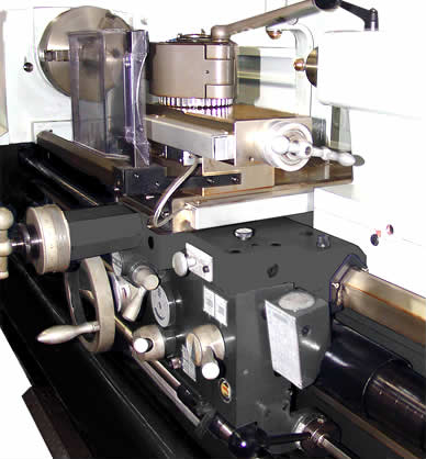conventional lathe solid series profimach The cross slide